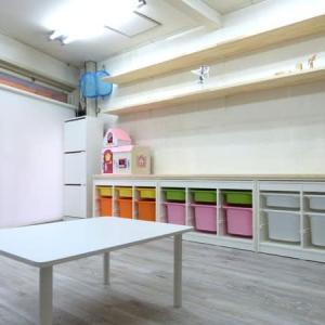 教室の棚を大工さんに作っていただきました♪