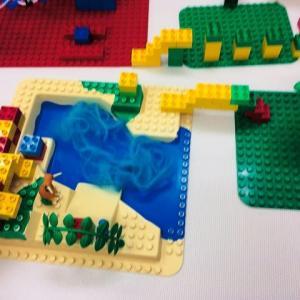 ブロック遊びをしながら、子どもとどう関わるか