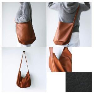 初挑戦 その8「手縫いのレザーバッグ」