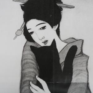 さて次の作品は竹久夢二の黒船屋