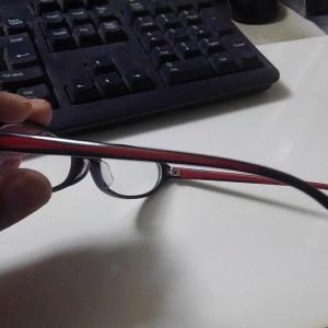 眼鏡アームの塗装