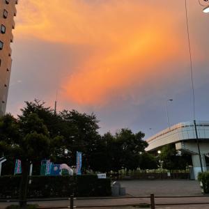 黄金の雲!?