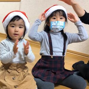 で~きたできた!サンタさんのぼうし☆クリスマスソングいっぱいでノリノリ!多賀城親子リトミック♪