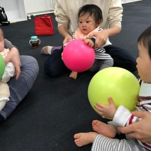 ベビーちゃん体験ようこそ!ママが楽しく動く、乳幼児親子レッスンで身に付く☆仙台駅一番町教室♪