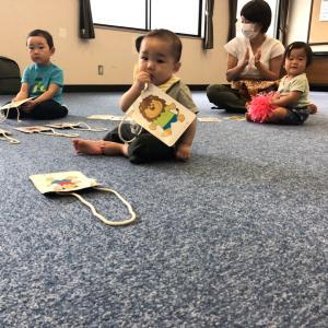 今日から教室レッスン再開!子ども達もお友達と体を動かせて楽しんでいたよ☆仙台泉区0歳1歳2歳♪
