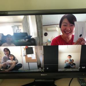 大崎古川教室メンバーとオンラインレッスン☆見つけたよって教えてくれたよ!子どもの集中力を伸ばす♪