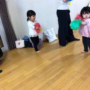 ポンポンダンスのポーズもカッコ良い!出来るがいっぱい☆多賀城市 親子リトミックならココ♪