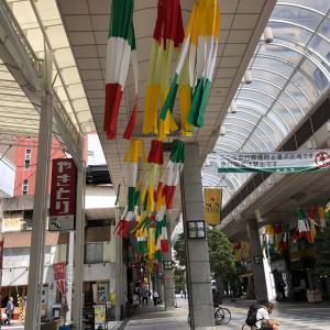 仙台七夕まつりは中止だけど・・・素敵な吹き流しがお出迎え☆一番町リトミックで仙台の夏を楽しもう♪
