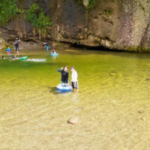 今日は川遊びへ☆親子でいっぱい遊ぶ、親子で色んな経験を!夏休みの過ごし方☆仙台親子教室♪