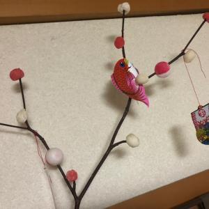 季節行事を取り入れよう☆我が家には、だんごさしが華やかにしてくれています☆仙台宮城♪