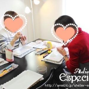 カービング塚口教室 03/01(日) レッスン風景