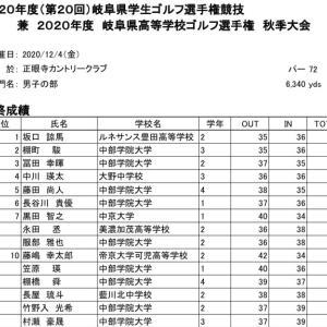岐阜県学生選手権