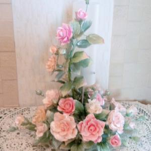 薔薇のランプ&パンプス ★ 完成