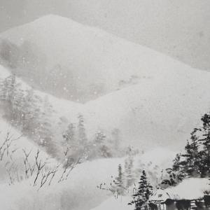 雪景を描く 水墨の世界