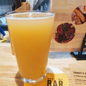 日曜午後はカウンター席でアメリカンクラフトビールを飲み比べ!@びあマ神田店!