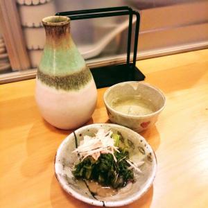 金曜ハシゴ3軒目は日本酒&九条葱おろしそばを飲み食い!@千駄木の「蕎麦 松風」!
