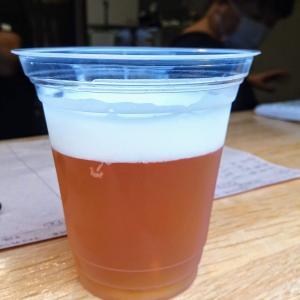 土砂降りの土曜午後は店頭でクラフトビール飲み比べ!@南浦和のプリモーディアルカフェ!