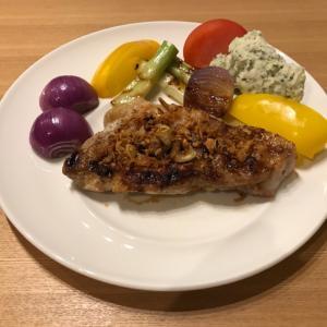 ガーリックポークソテー 〜カラフル野菜に囲まれて〜
