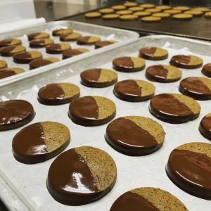 あさみや茶スイーツ「チョコっとクッキー」
