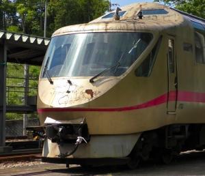 謎の回送をされたタンゴエクスプローラーが留置される京都丹後鉄道 福知山運転所