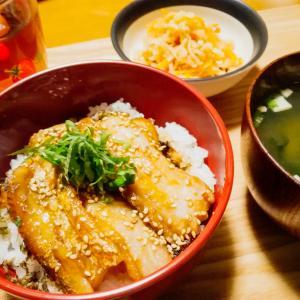 太刀魚の蒲焼き丼定食