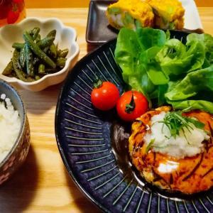 豆腐ひじきハンバーグ