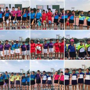 群馬県中学3年トーナメント 女子予選結果