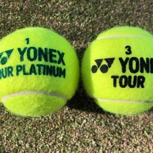 ヨネックス テニスボール 打ってみました!