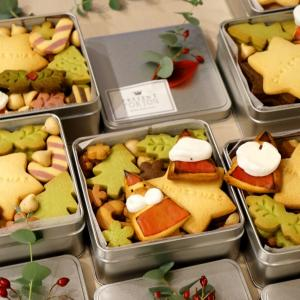 クリスマスクッキー缶レッスン★レポ