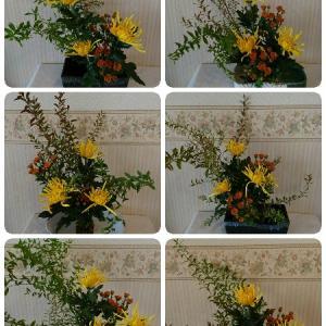 10月のお花は秋の雰囲気♪