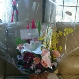 嬉しいお花のプレゼント♪