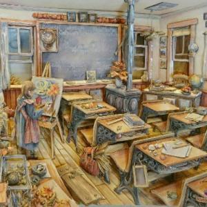 学校の風景