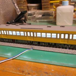 ZugのHOゲージ西武新101系をつくろう11:窓と室内A