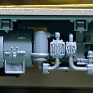 鉄道ホビダスのHOゲージ阪急8000系を製作8:床板3・本組み