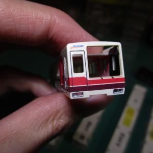 鉄コレ北大阪急行8000形ポールスターを大改造2:ボディ加工