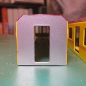 カツミの東京メトロ1000系を製作8:ボディの色んな表面仕上げ