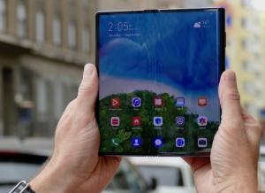 Huawei Mate Xスマートフォンのレビュー'19.10.13