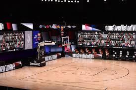 NBAは、Microsoft Teamsを使用して、仮想的なファンを、現実のゲームにもたらす。(2)'20.07.26