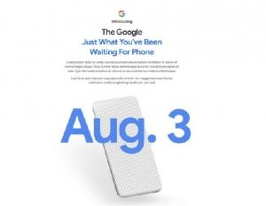Google Pixel 4aスマートフォンが、2020年8月に、ついに、明らかにされる。'20.08.01