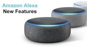 AmazonのAlexaデジタル・アシスタントが、質問をして始めている。'20.08.05