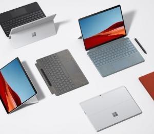 SQ2プロセッサを搭載した、Surface Pro Xが、2020年10月13日に、1499ドルで、リリースされる。(2)'20.10.11