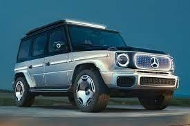 Mercedes-Benzは、再考した、電気自動運転車のコンセプトカー、EQGを紹介した。'21.09.26