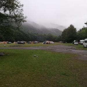 北斗市の湯の沢水辺公園は素晴らしいキャンプ場なのだ