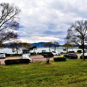 琵琶湖の湖畔は車中泊天国なのだ。えらいぞ滋賀県