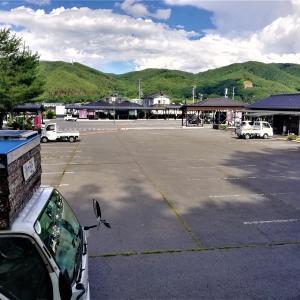 車中泊の旅は武田軍も超えた安房峠を越えて岐阜から長野に入ります。