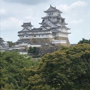 姫路でクエパ&世界遺産 姫路城へ