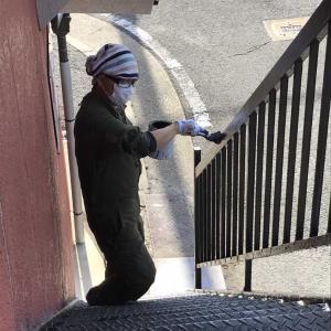 階段塗装作戦はくせが強いぞ~