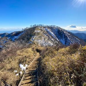 冬の丹沢主脈へ 丹沢山