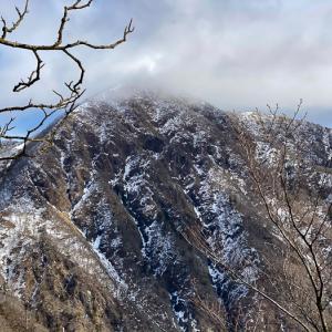 冬の丹沢主脈へ 蛭ヶ岳・檜洞丸