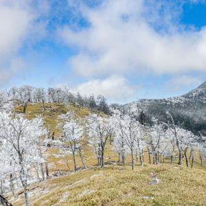 春はやて 釈迦ヶ岳